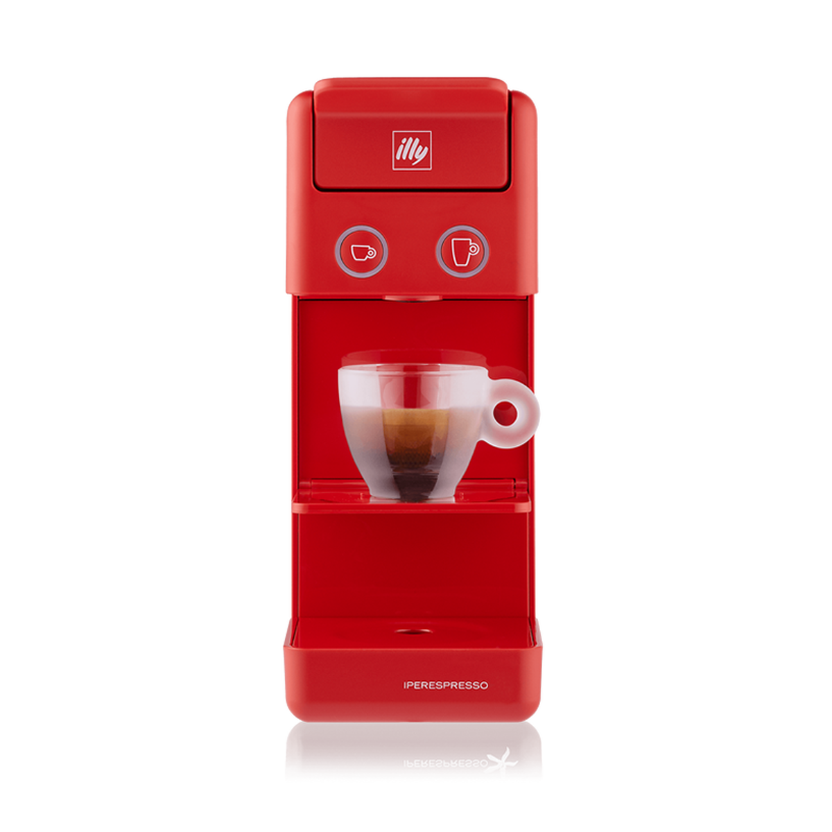 illy - Y3.3 Iperespresso - Espresso & Coffee Machine - Red
