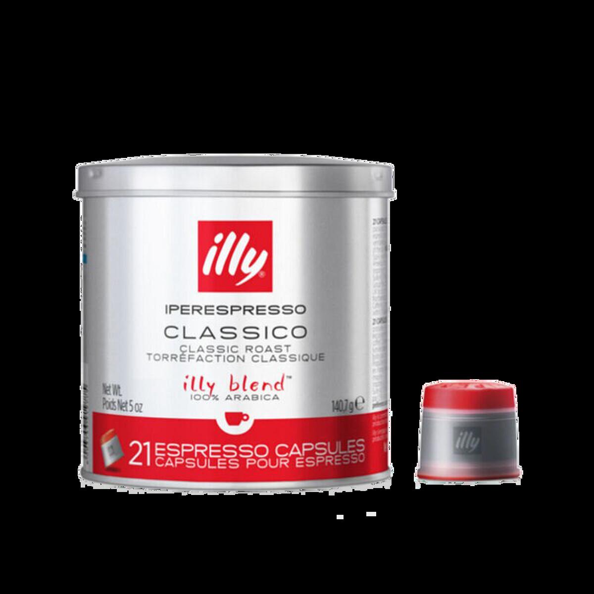 illy - Espresso capsules Classico - Medium Roast - 21 stk.