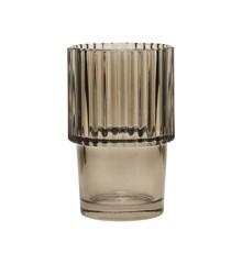 House Doctor - Rills Vandglas Sæt á 4 - Røget Grå