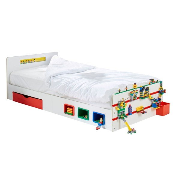 Room 2 Build - Kids 2m Single Bed with Storage (525RTB01EM)