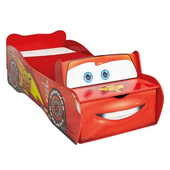 Disney Cars - Lightning McQueen Toddler Bed with Storage (452LMN01EM)