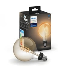 Philips Hue - E27 Filament G25 Globe - White Ambiance - Bluetooth