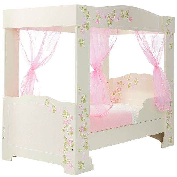 Rose - 4 Poster Kids Toddler Bed (452FPS01EM)