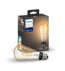 Philips Hue - E27 Filament ST72 Edison - White Ambiance - Bluetooth