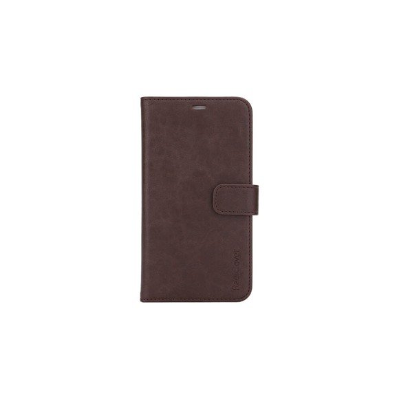 RadiCover - Radiation Protection Wallet PU iPhone 12 Mini Flipcover - Brown