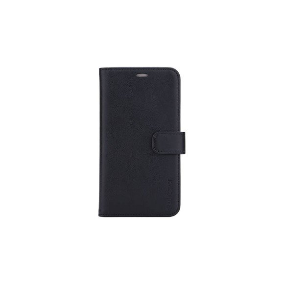 RadiCover - Radiationprotected Wallet PU iPhone 12/12 PRO Flipcover - Black