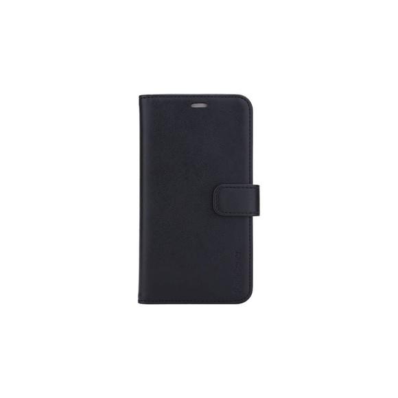 """RadiCover - Strålingsbeskyttelse Wallet PU iPhone 12  6,1"""" Flipcover - Sort"""