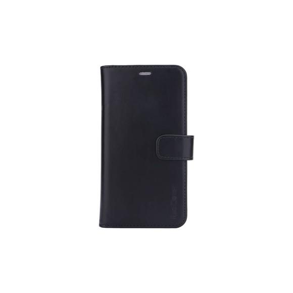 """RadiCover - Strålingsbeskyttelse Mobilewallet Læder iPhone 12 5,4"""" 2in1 Magnetcover - Sort"""
