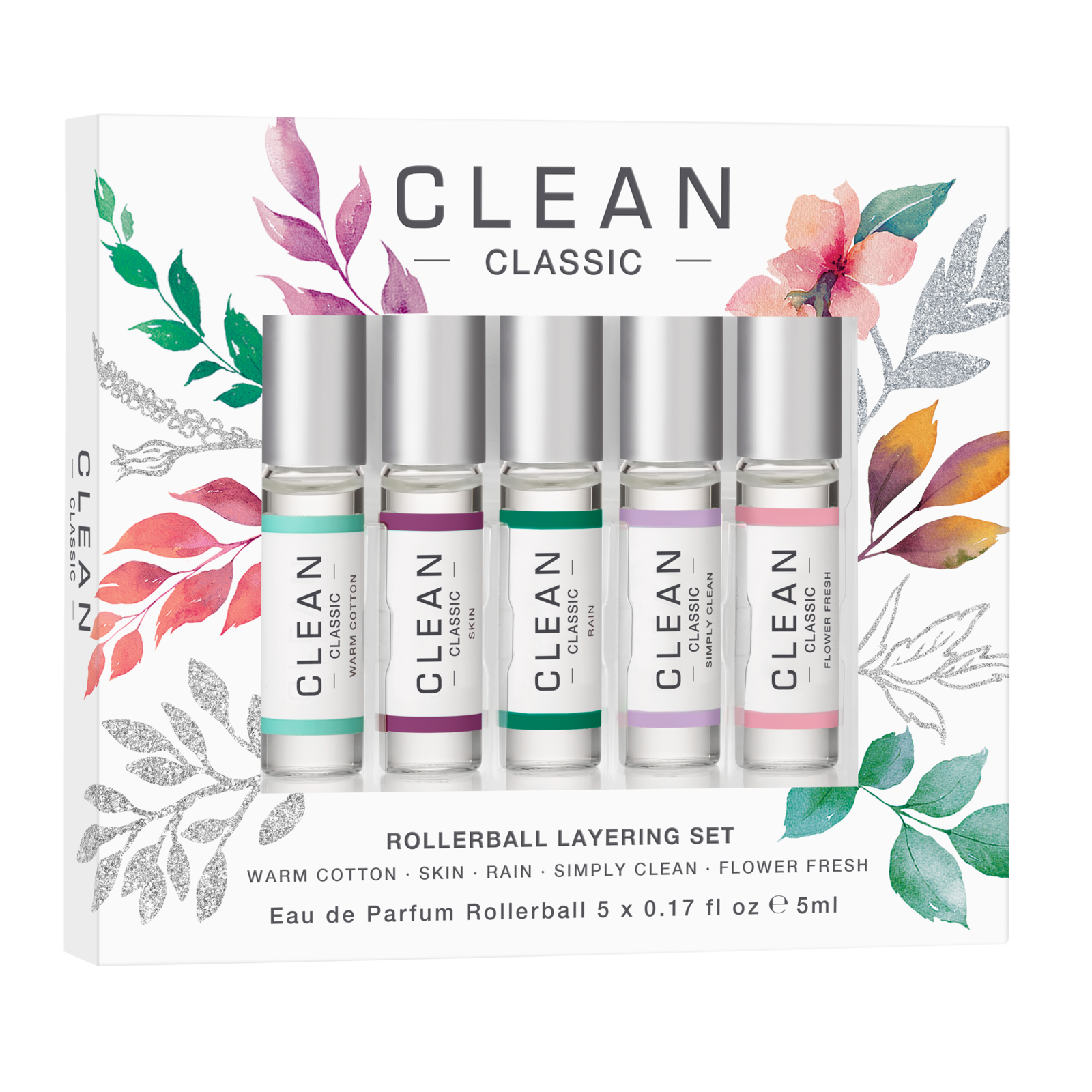 Clean - Rollerball Layering Set