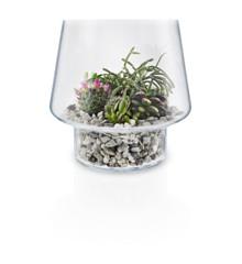 Eva Solo - Sukkulent Glass Vase Ø 21 cm - Transperant (568188)