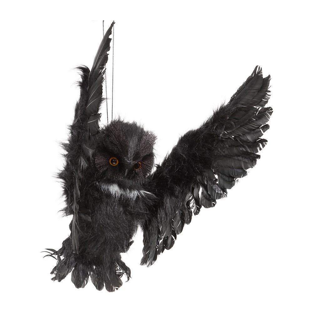 Halloween Animated Owl 75 cm (96041)