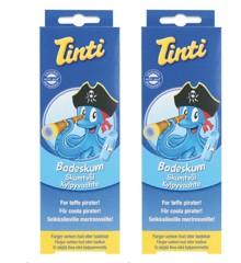 Tinti - Badeskum, blå, 2 x 75 ml