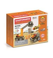 Magformers - Byggeplads sæt 50 dele (3072)