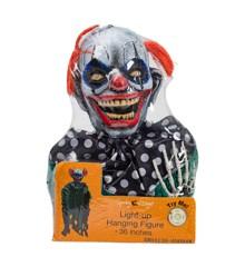 Halloween Clown w. Red Hair (96051)