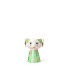 Bjørn Wiinblad - Eva Candle Holder 9,5 cm - Light Green (54044)
