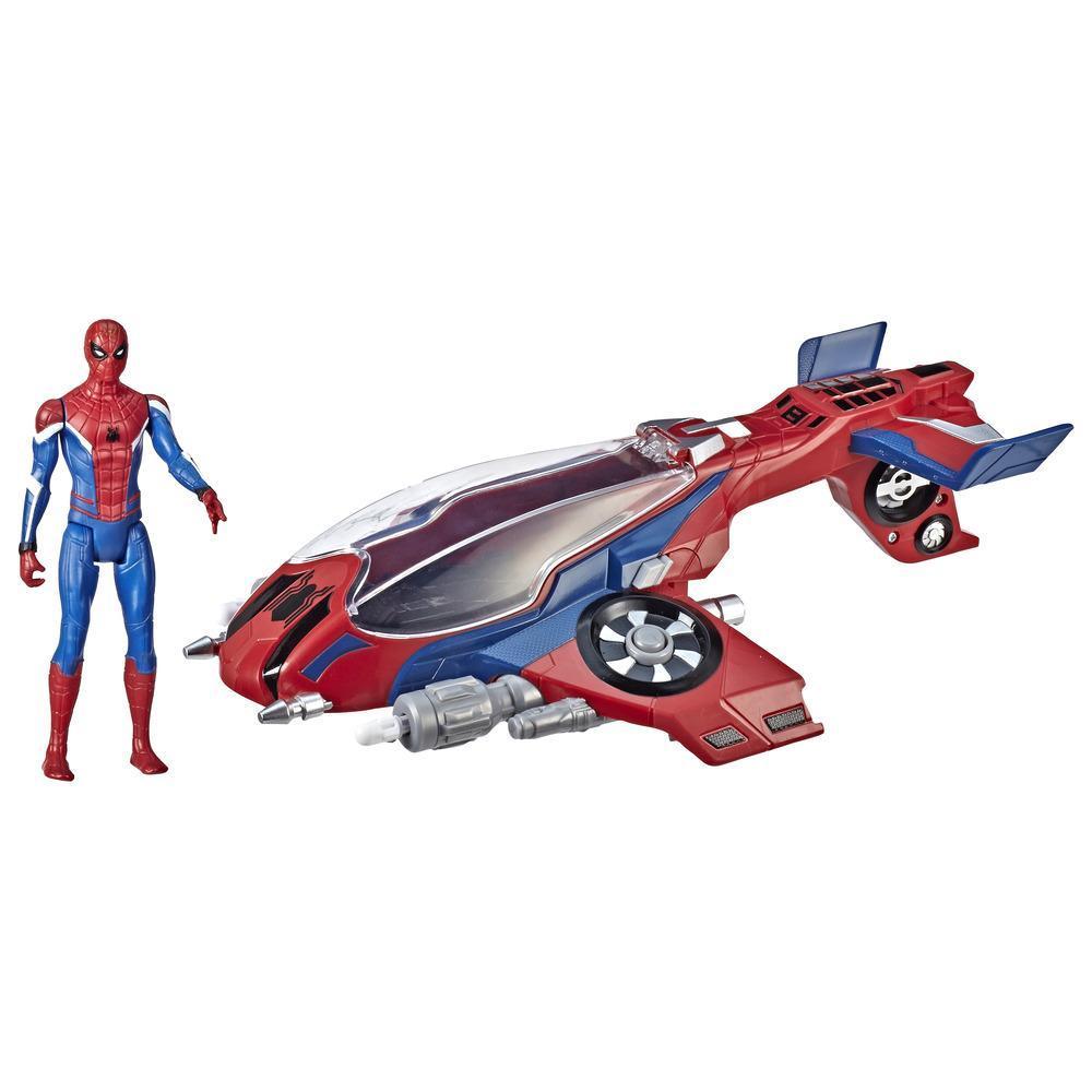 Spider-Man - Spider Jet with Spider-Man (E3548)