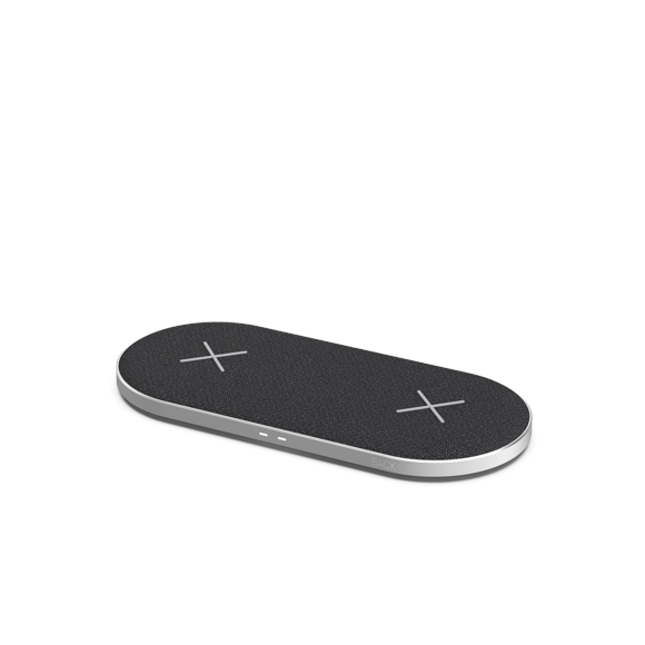 SACKit - CHARGEit Dual Dock Care - Wireless Charger - Black
