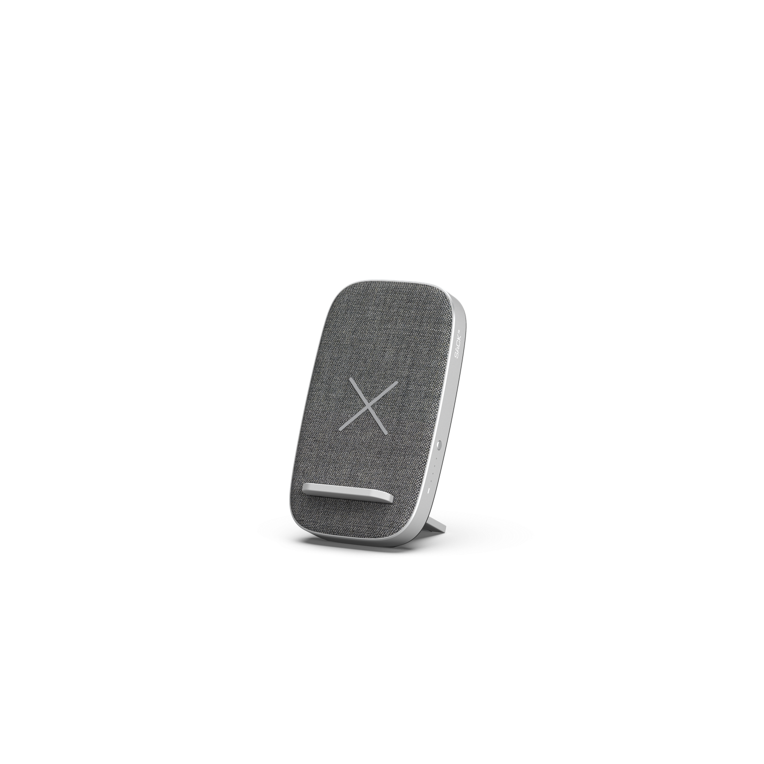 SACKit - CHARGEit Stand– Wireless Charger - Grey