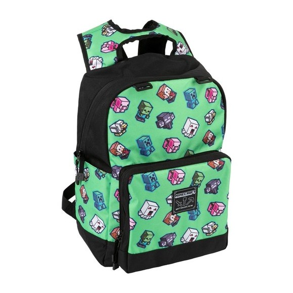 Minecraft 17 Mini Mobs Cluster Backpack
