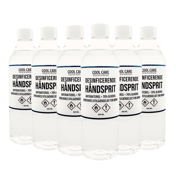 Cool Care – 6x Hand Sanitizer (70%) 500 ml
