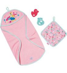 Baby Born - Badehåndklæde med tilbehør