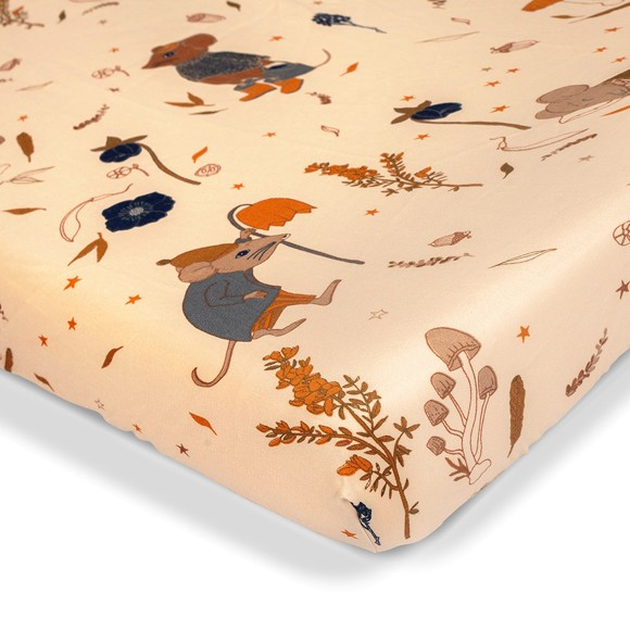 That's Mine - Bed Sheet Junior 70 x 160 cm - Mouse Night (SS217)