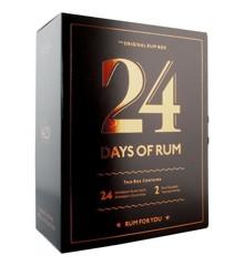 Rom Kalender - 24 Days Of Rum 2020 inkl. Glas