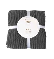Night & Day - Bedspread Velvet 220x240 cm - Grey (2101)