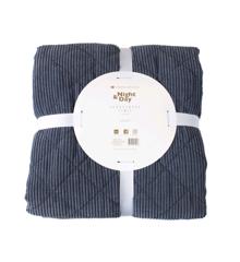 Night & Day - Bedspread Velvet 240x260 cm - Blue (2104)