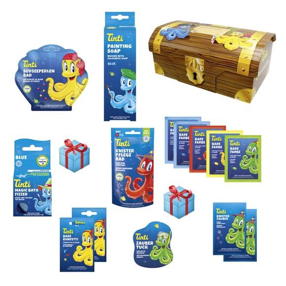 Tinti - Treasure chest - 16 parts (370516)