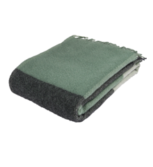 ARCTIC - Wool Blanket - Sea Green 130x200 cm (59621)