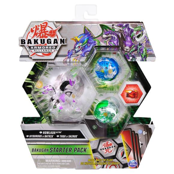 Bakugan - Starter Pack - Armored Alliance - Diamond Howlkor