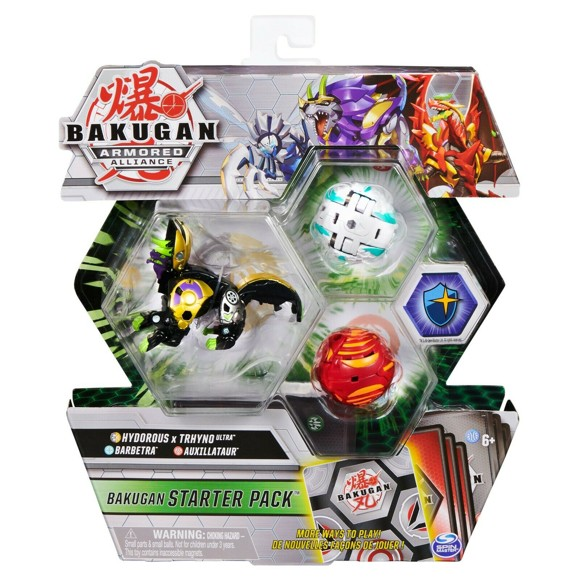 Bakugan - Starter Pack - Armored Allianc - Hydorous x Trhyno