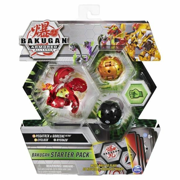 Bakugan - Starter Pack - Armored Allianc - Pegatrix x Goreene