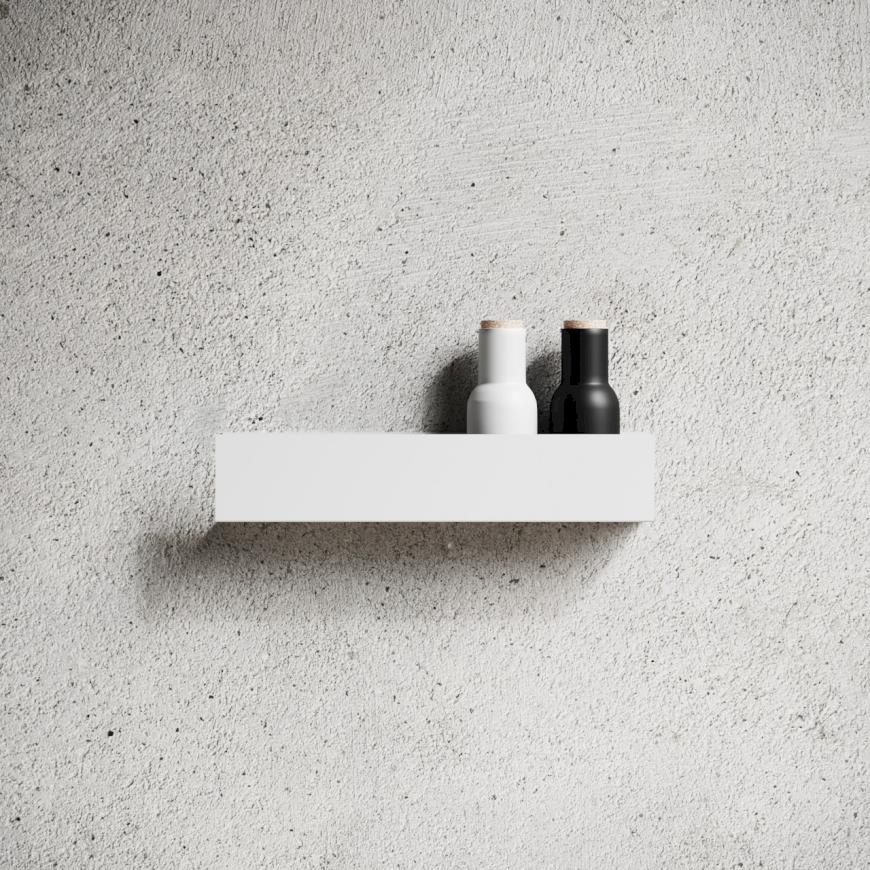 Nichba - Shelf U40 - White (L100107W)