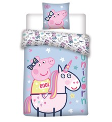 Bed Linen - Adult Size 140 x 200 cm - Peppa Pig (1000334)