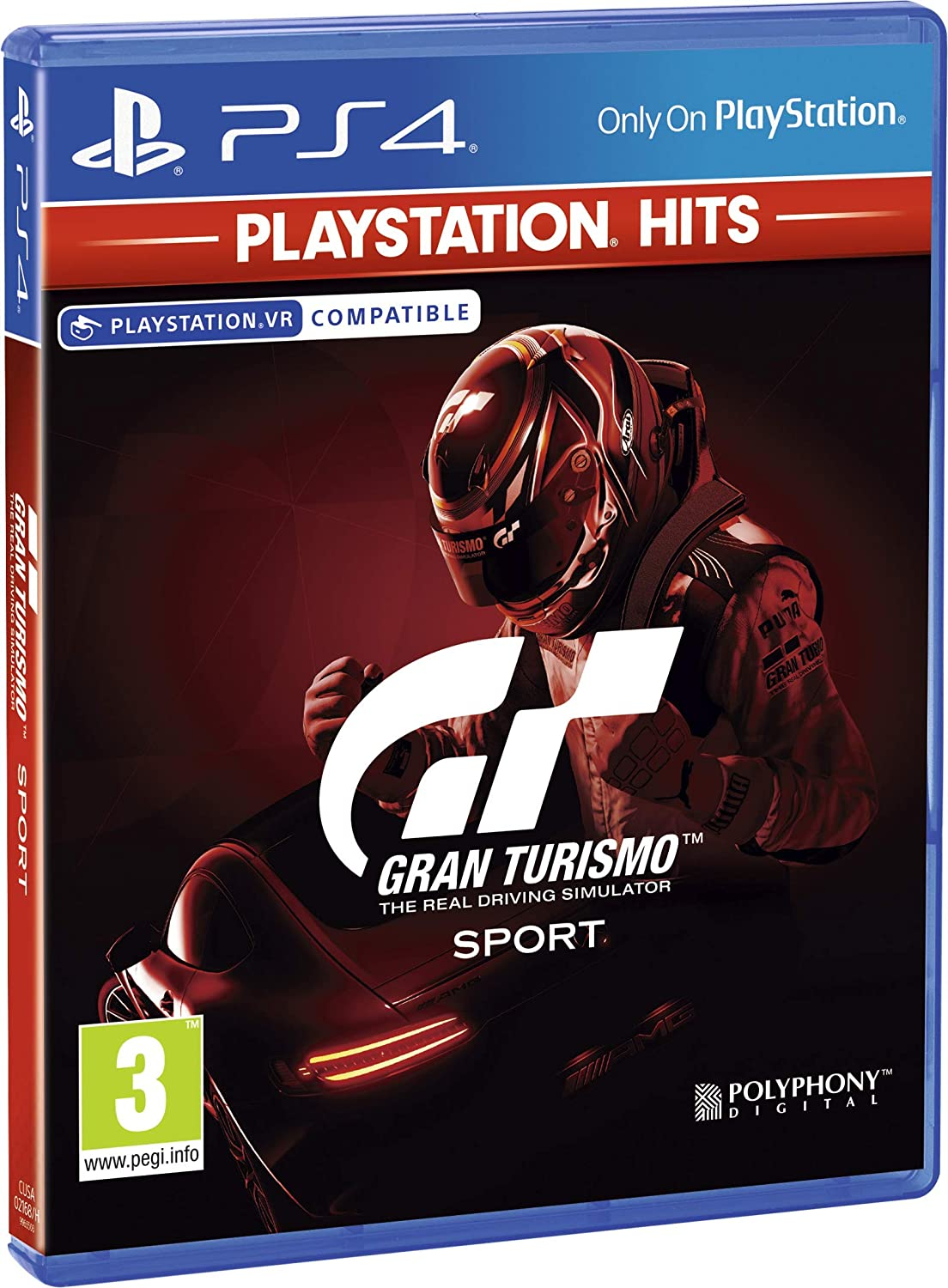 Gran Turismo: Sport (Playstation Hits) (UK/Arabic)