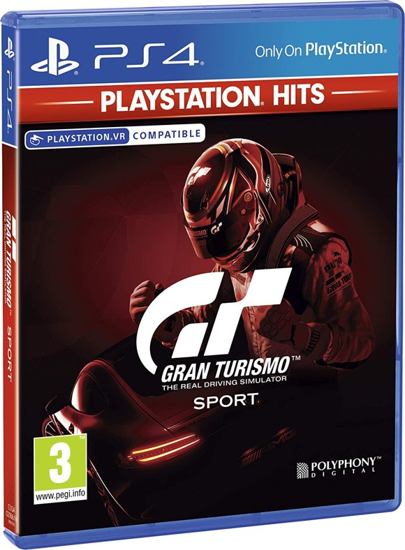 Gran Turismo: Sport (Playstation Hits) (UK/Arabic)