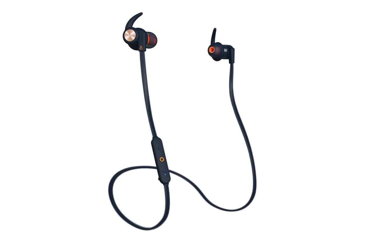 Creative - Outlier Wireless Sports Earphones - Blue