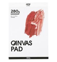 Canvas block - A4 (10 x 280 g) (25753)
