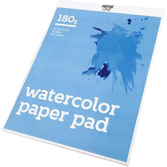Watercolor pad A3 (20 sheets)