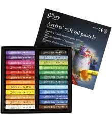 Gallery - Oliepastel Premium (24 stk)