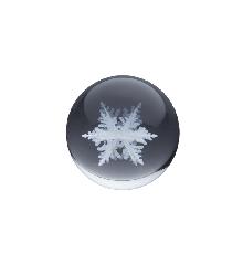 Kasia Lilja - Krystalkugle - Snowflake 2
