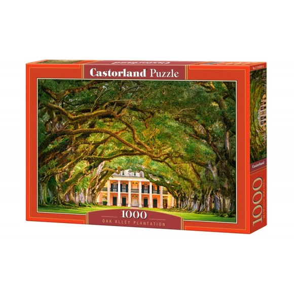 Castorland - Puzzle 1000 Pieces - Oak Alley Plantation