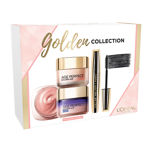 L'Oréal - Golden Age Day & Night + VML Mascara- Giftset
