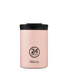 24 Bottles - Travel Tumbler 0,35 L - Dusty Pink
