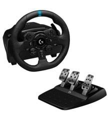 Logitech - G923 Driving Force Racing til PS5, PS4 og PC