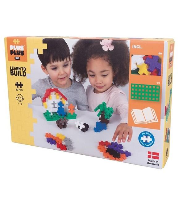 Plus Plus - BIG Lær å bygge, 60 deler (3288)