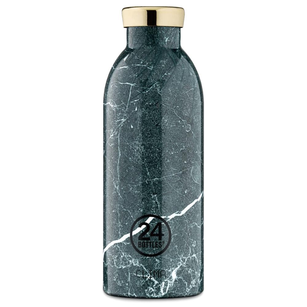 Bilde av 24 Bottles - Clima Bottle 0,5 L - Green Marble (24b534)
