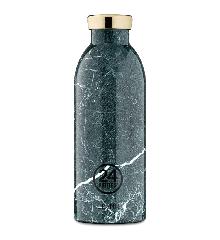 24 Bottles - Clima Bottle 0,5 L - Green Marble